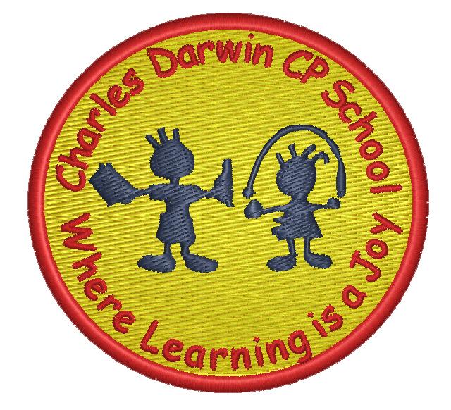 Charles Darwin Community Primary School logo