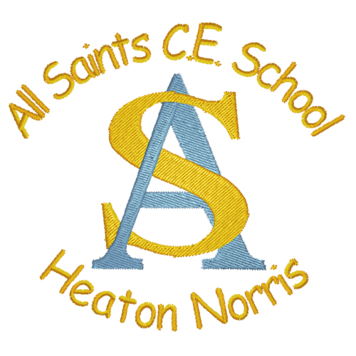 All Saints CE Primary School logo