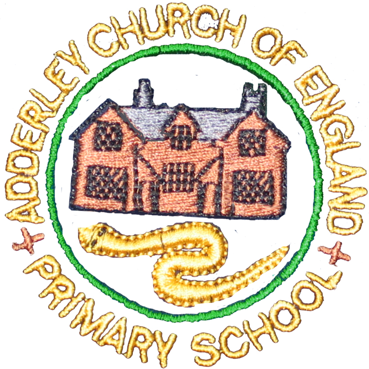 Adderley CE Primary School logo