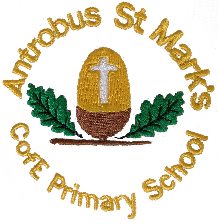 Antrobus St Mark's Primary School logo