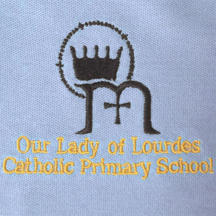Our Lady of Lourdes Catholic Primary School logo