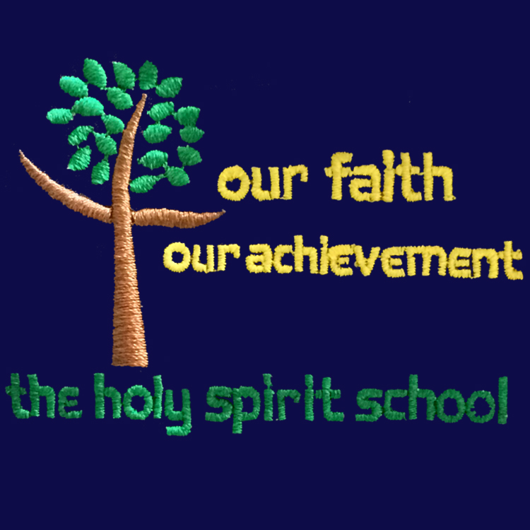Holy Spirit Catholic and CofE Primary School logo