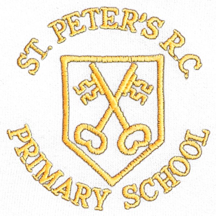 St. Peter's R.C. Primary logo