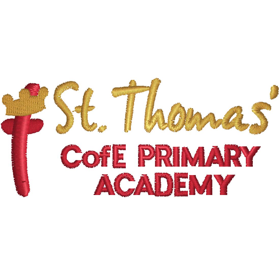 St Thomas' CE Primary Academy logo